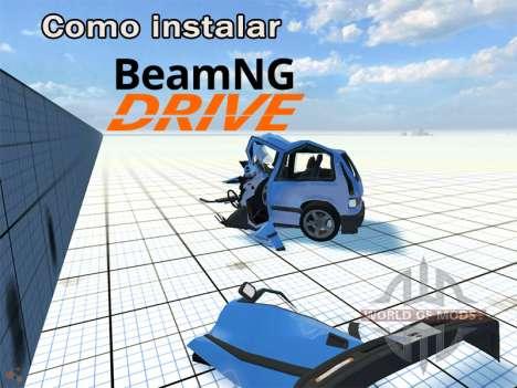 Instruções de instalação BeamNG Drive