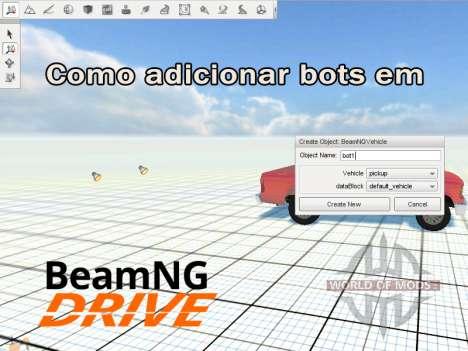 Adicionar bots BeamNG.Drive