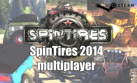 Jogo em rede em SpinTires 2014