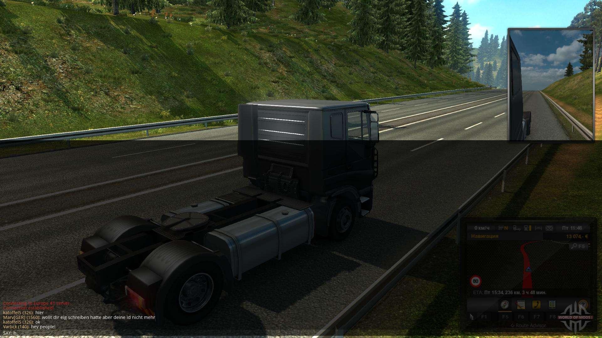 Como jogar Euro Truck Simulator 2 on-line - ETS 2 multiplayer