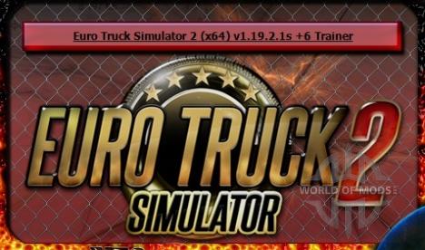 Euro Truck Simulator 2 trainer