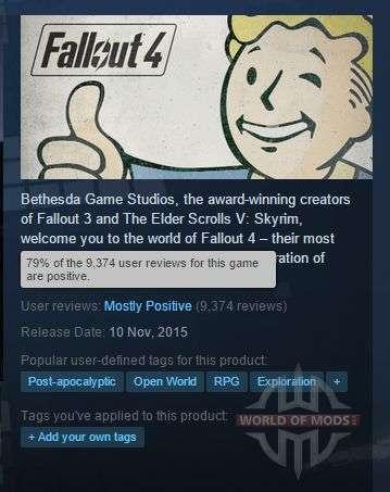 Fallout 4 de Vapor