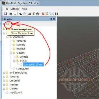 Mostrar no Windows Explorer arquivo