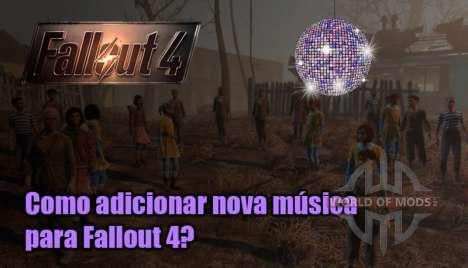 Como adicionar música para o Fallout 4?