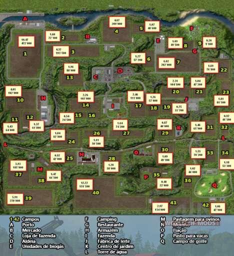 Ferraduras Mapa de Farming Simulator 2013