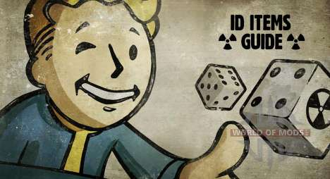 ID itens Fallout 4