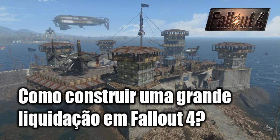 Como construir uma casa em Fallout 4