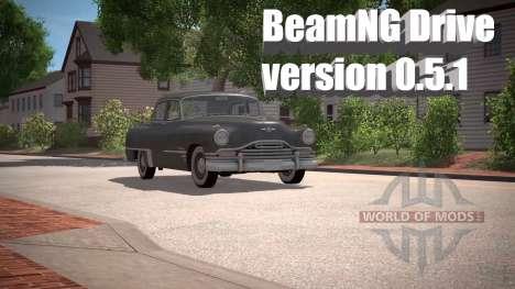 BeamNG Unidade de versão 0.5.1