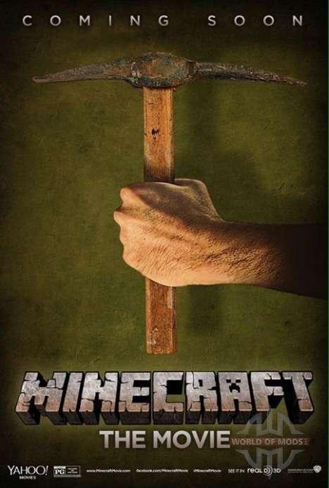 Oficial de Minecraft cartaz