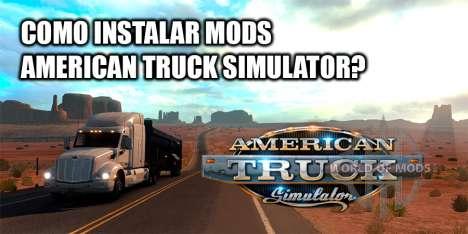 Como instalar mods no ATS