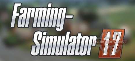 O anúncio do Farming Simulator 17
