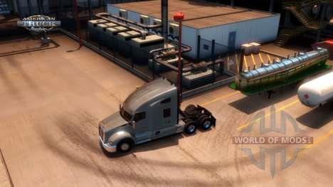 Avançado Engate para atrelado American Truck Simulator