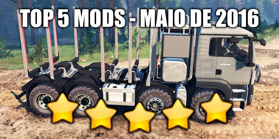 TOP 5 SpinTires mods