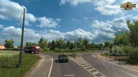 Novas screenshots do Vive La France DLC para o Euro Truck Simulator 2