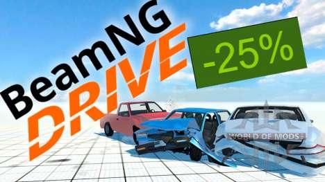 25% de desconto em BeamNG Drive no Steam