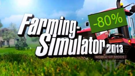 80% de Desconto em Farming Simulator 2013