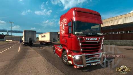 Poderoso Griffin DLC para o Euro Truck Simulator 2