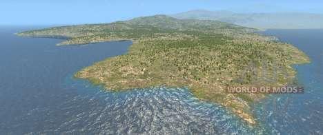 A Itália mapa para BeamNG Drive