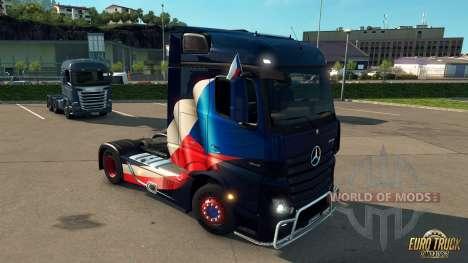National Window Flags DLC para o Euro Truck Simulator 2