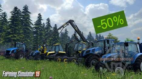 Descontos em Farming Simulator 15