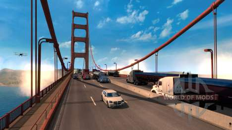 A Escala da American Truck Simulator jogo world