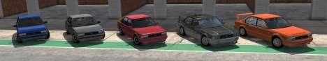ETK I Série de BeamNG Drive - todas as variantes