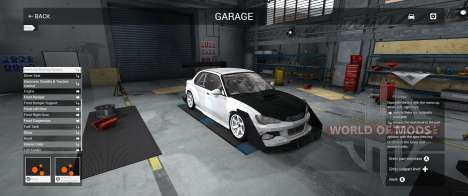 Garagem Modo BeamNG Drive