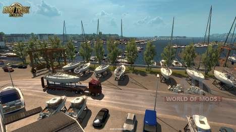 Novas screenshots do Vive La France de atualização para Euro Truck Simulator 2