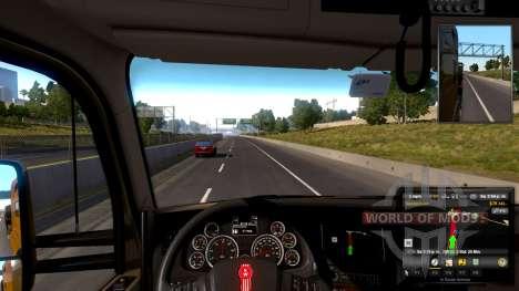 volante Ajustável para a American Truck Simulator