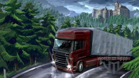aventura Floresta em Euro Truck Simulator 2