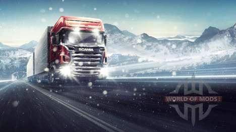 Através da Blizzard Euro Truck Simulator 2
