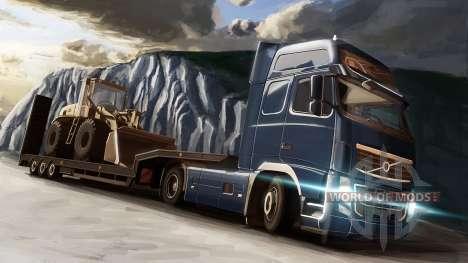 A Volvo e a Niveladoras em Euro Truck Simulator 2