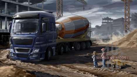 Pais e filhos em Euro Truck Simulator 2