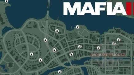 How to remove the map in Mafia 3