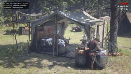 Red Dead Redemprion 2: the location of the camp