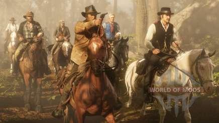 Red Dead Redemption 2: trial rider