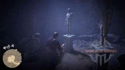 Resolver o puzzle da estátua em RDR 2