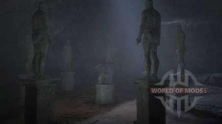 Estátuas estranhas em RDR 2