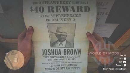 Poster De Joshua Brown