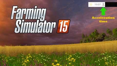 Tempo de aceleração mod para FS 2015