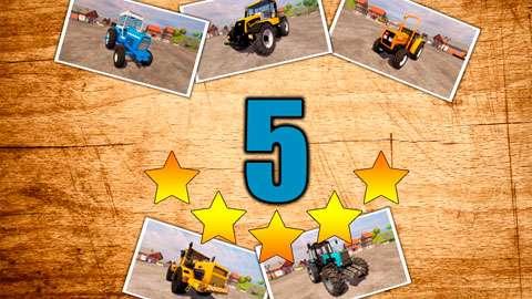 TOP 5 de trator de mods para o FS 2013