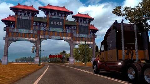 Novos mapas para o American Truck Simulator