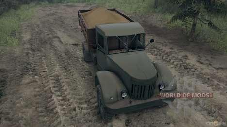 Maz-502 para Spin Tires