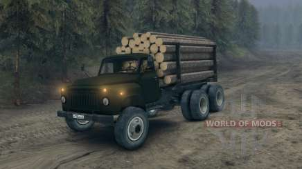 Gaz-52 modificado para Spin Tires