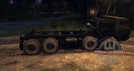 KrAZ 6316 Sibéria Beta para Spin Tires