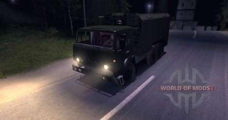 KAMAZ-4310 (versão beta) para Spin Tires