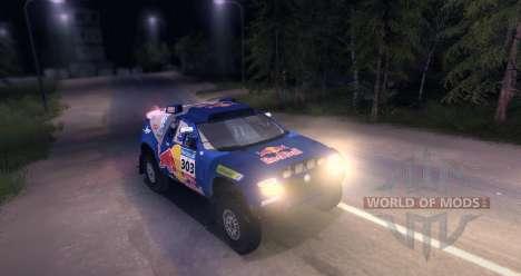 Volkswagen Touareg Dakar Beta para Spin Tires