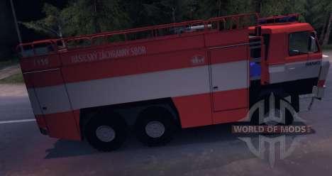 Tatra 815 fogo para Spin Tires