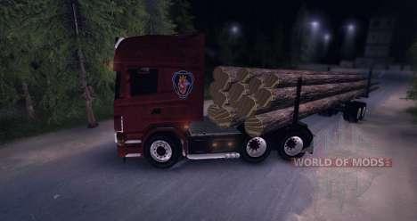 Scania Truck Logger v2.0 para Spin Tires