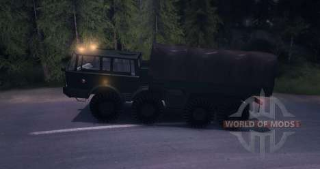 Tatra 813 8 x 8 Final exército checo para Spin Tires